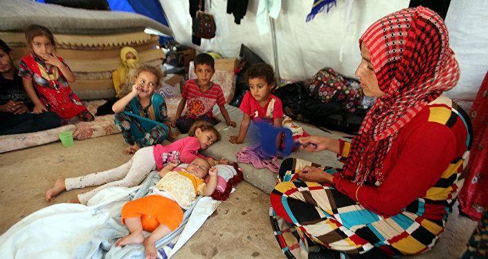 Los combates en Mosul podrían generar 1,2 millones de desplazados