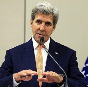 John Kerry, secretario de Estado norteamericano
