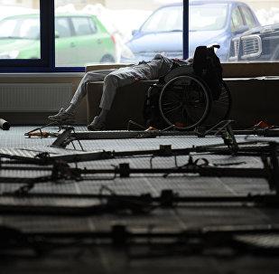 Atleta paralímpico de Rusia (Archivo)