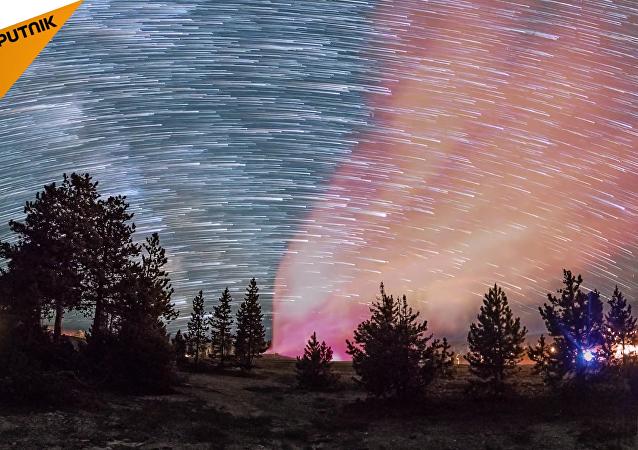 El director Harun Mehmedinovic realizó un vídeo en 'time-lapse' que captó los increíbles paisajes del Parque nacional de Yellowstone.