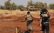 Rebeldes sirios