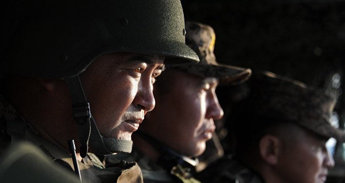 Maniobras ruso-mongol Selenga