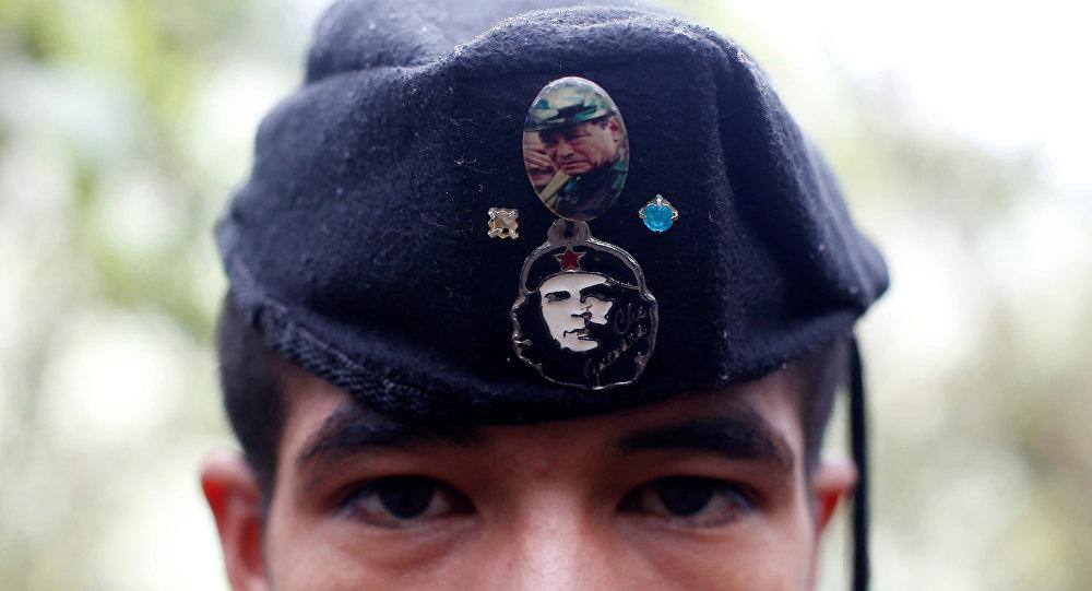 El miembro de las FARC