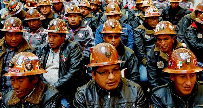 Mineros de Bolivia (Archivo)