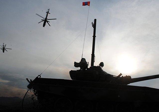Ejercicios ruso-mongoles Selenga