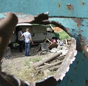 Bombardeo de Donetsk