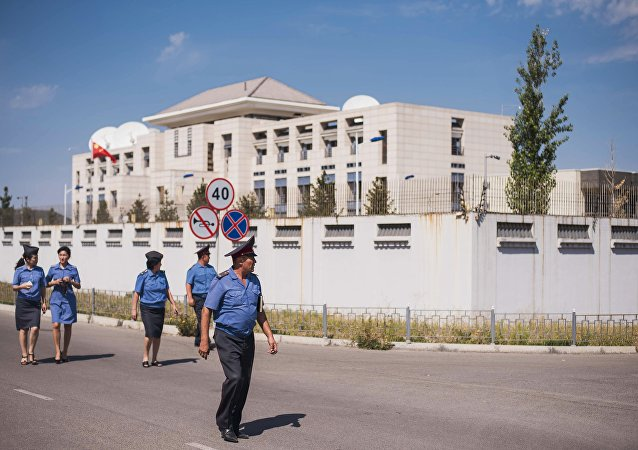 La embajada de China en Biskek