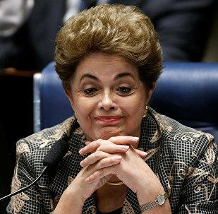 Dilma Rousseff, presidenta destituida de Brasil