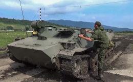 En el cielo, mar y tierra: la inspección militar sorpresa en Rusia
