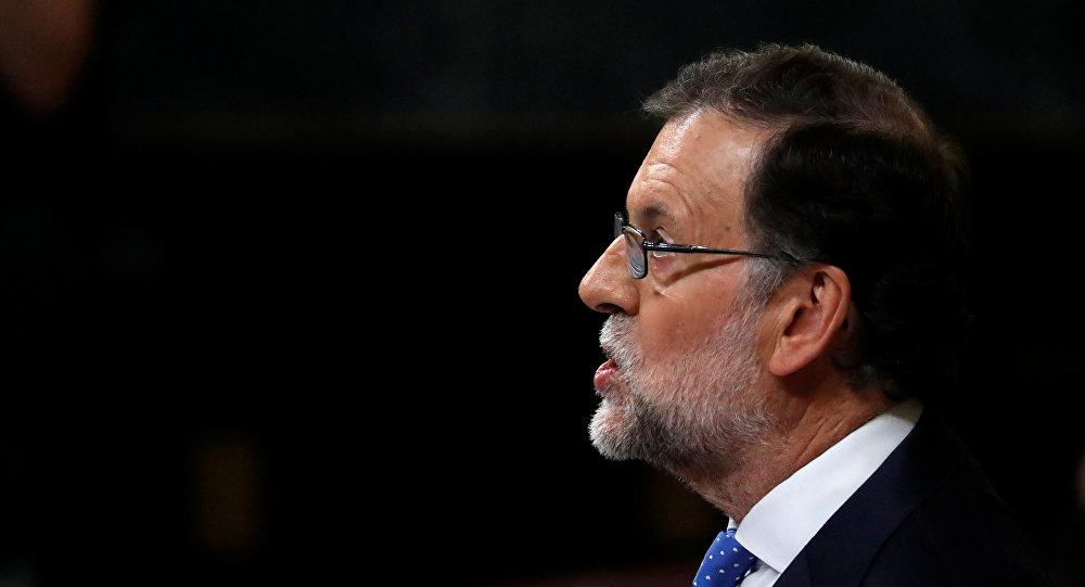Mariano Rajoy, el presidente del Gobierno en funciones