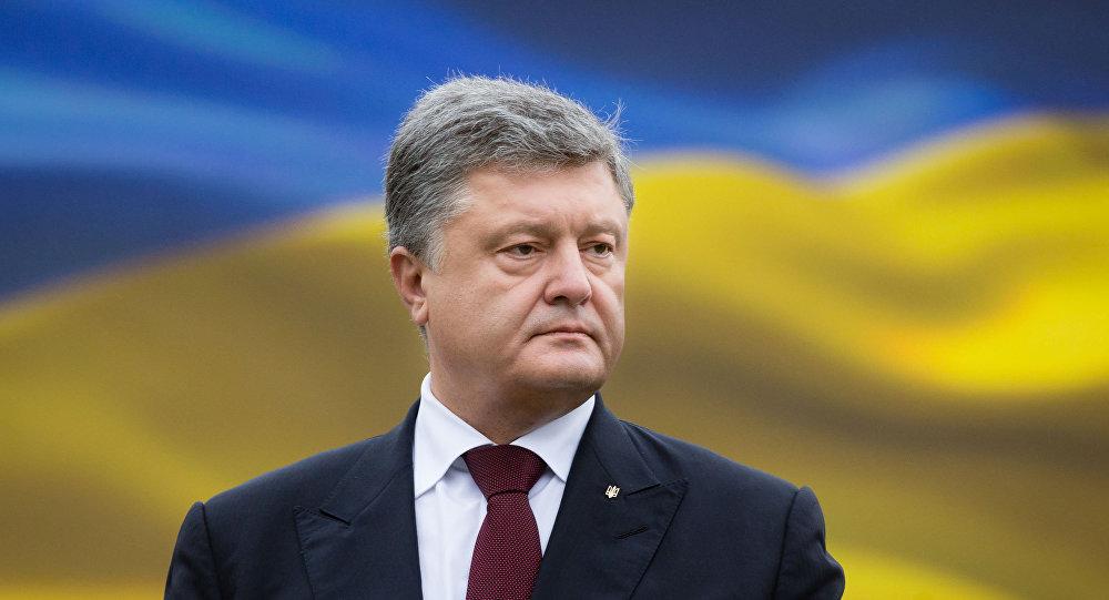 Petró Poroshenko, el presidente de Ucrania