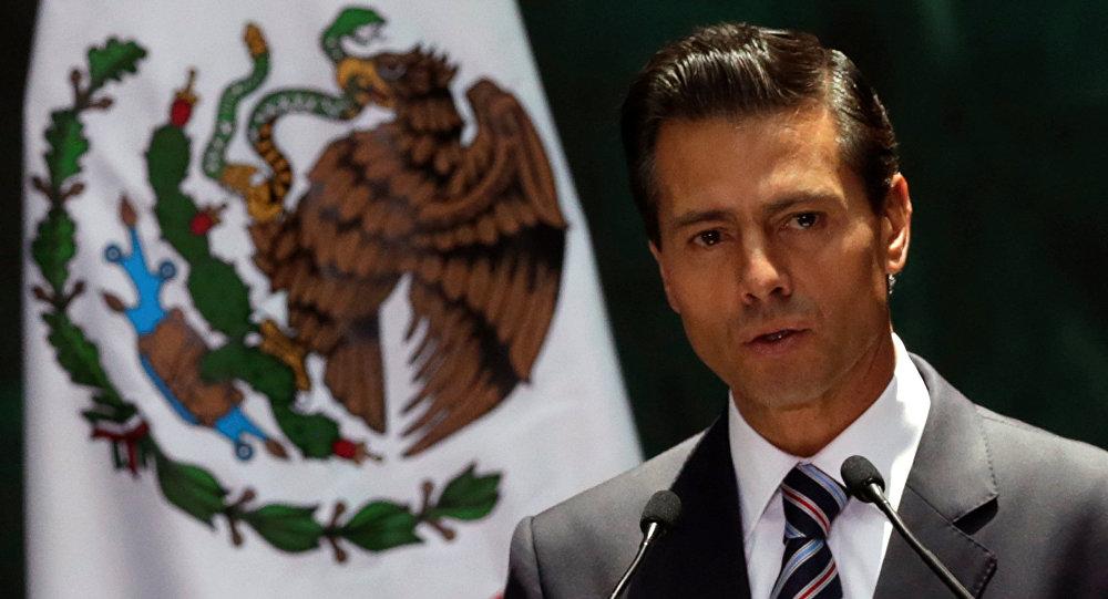 Enrique Peña Nieto, presidente mexicano