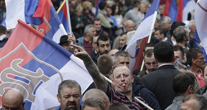Los serbios bosnios