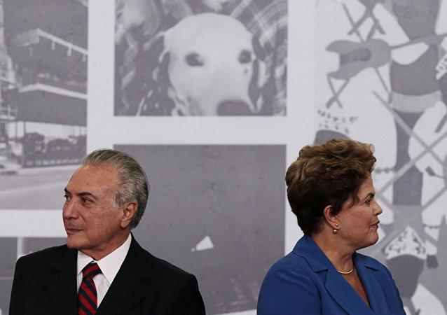 Michel Temer asumió la Presidencia de Brasil tras la destitución de Dilma Rousseff en 2016 y puede perder su mandato.
