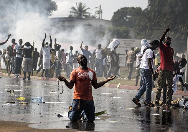 Situación en Gabón