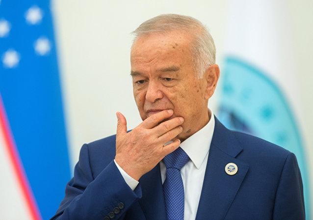 Islam Karímov, el presidente de Uzbekistán