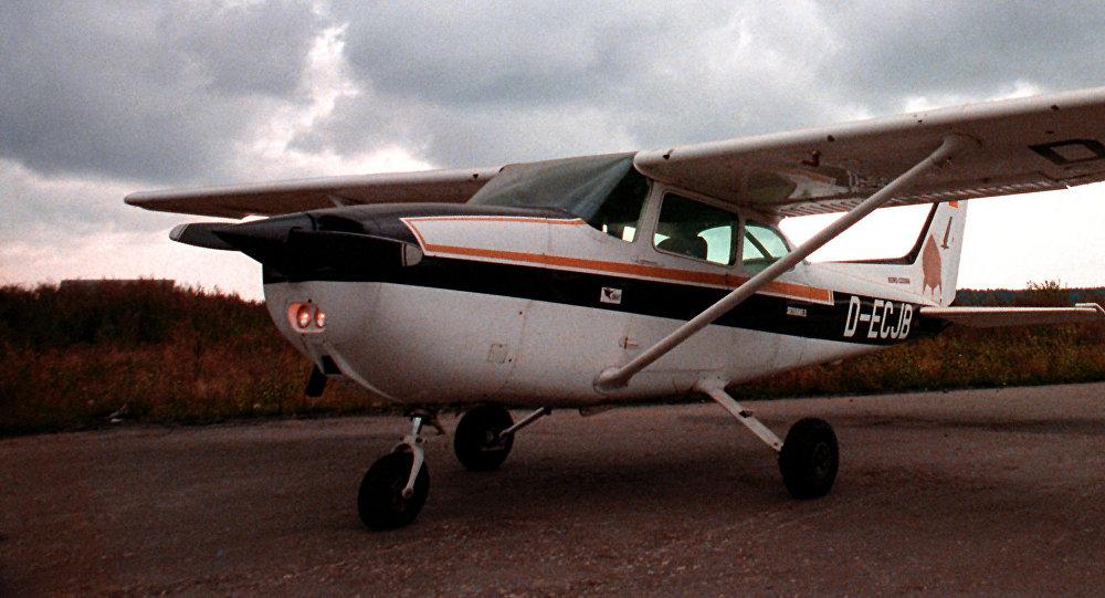 El avión de Mathius Rust