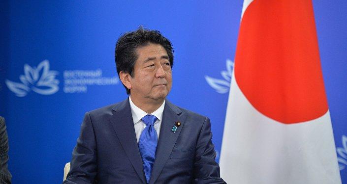 Shinzo Abe, primer ministro japonés