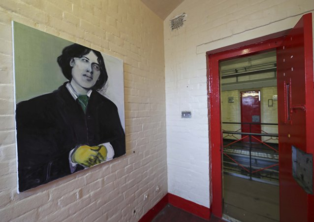 Un retrato de Oscar Wilde en la cárcel de Reading