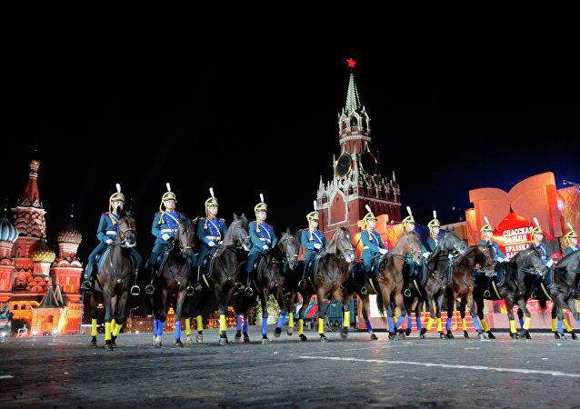 El Festival Internacional de Música Militar que en la Plaza Roja