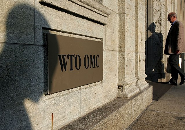 Sede de la OMC en Ginebra, Suiza (archivo)