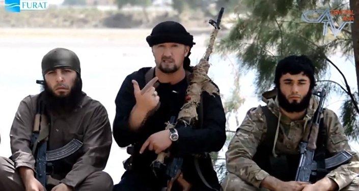 Gulmurod Jalímov, exjefe del OMON (unidad especial de la policía) de Tayikistán