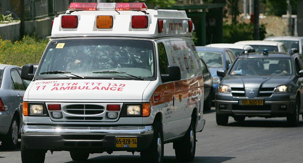 Ambulancia de Israel
