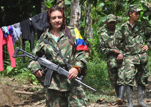 Guerrillera de las FARC