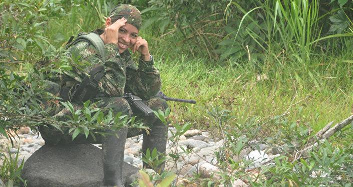 Olga, Guerrillera de las FARC