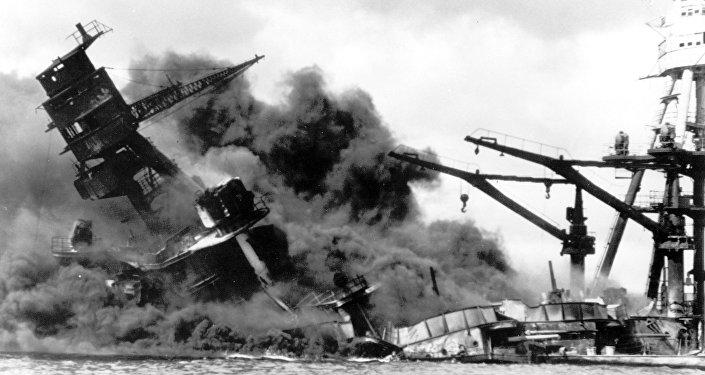 El ataque a Pearl Harbor (archivo)