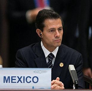 Enrique Peña Nieto, presidente de México, durante la cumbre de G20