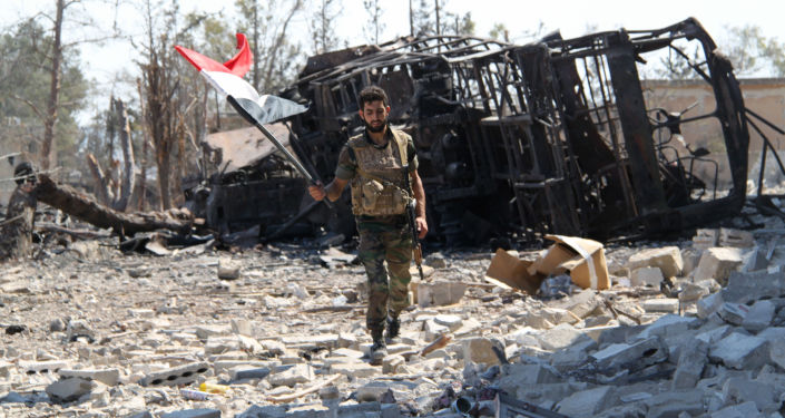 El Ejército de Siria regresa a las tierras libres de terroristas