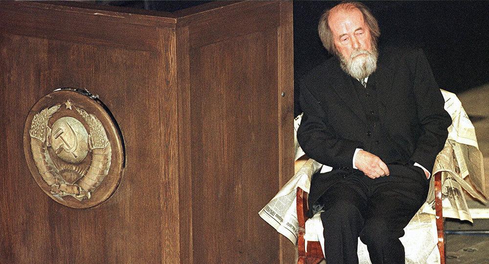 Alexandr Solzhenitsin, escritor ruso