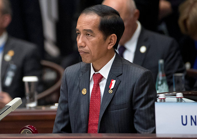 Indonesian President Joko Widodo attends the opening ceremony of the G20 Summit in Hangzhou