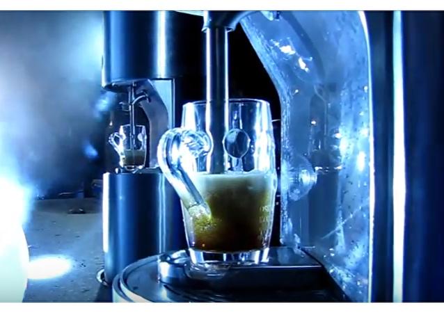 Inauguran en Eslovenia una fuente pública de cerveza