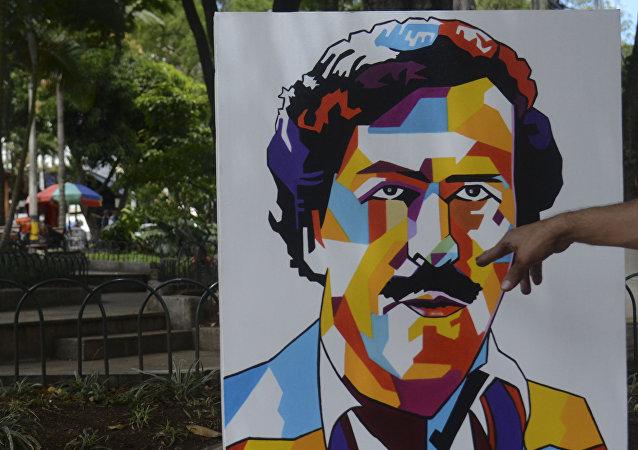 Retrato de Pablo Escobar