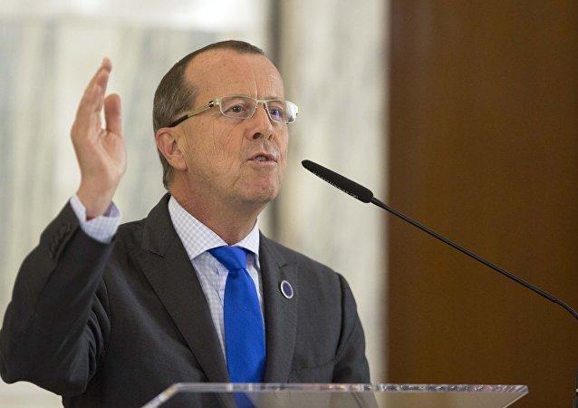 Martin Kobler, el enviado especial del secretario general de la ONU para Libia