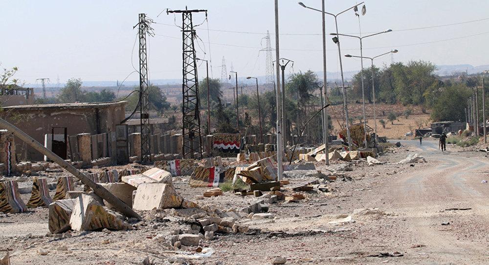El barrio de Ramuse, en el sur de Alepo, Siria