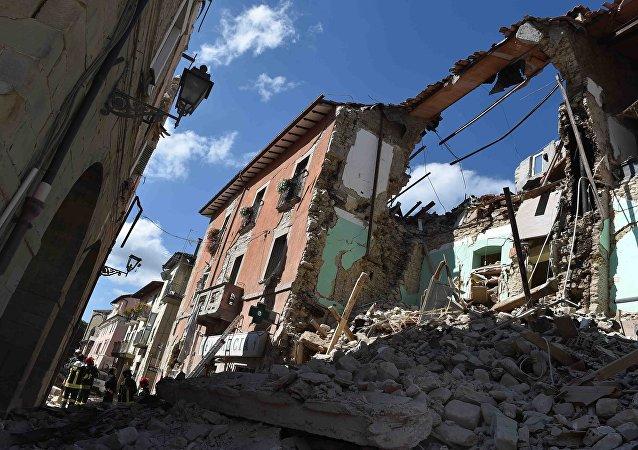Consecuencias del terremoto en Italia