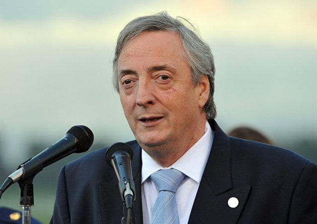 Néstor Kirchner, expresidente de Argentina