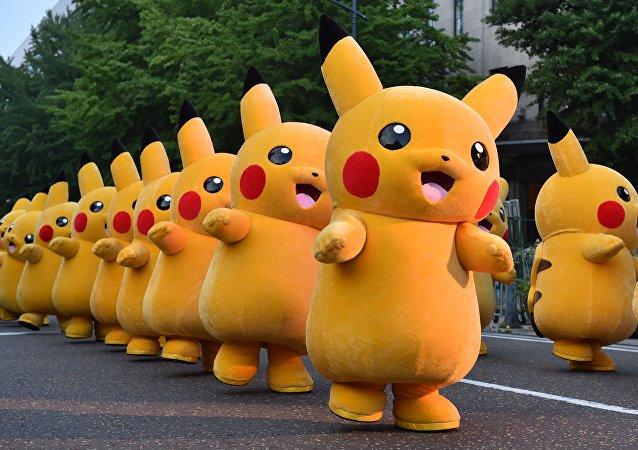 Pikachu, especie de Pokémon