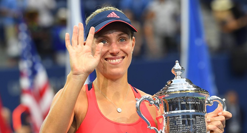 Angelique Kerber,  tenista alemana
