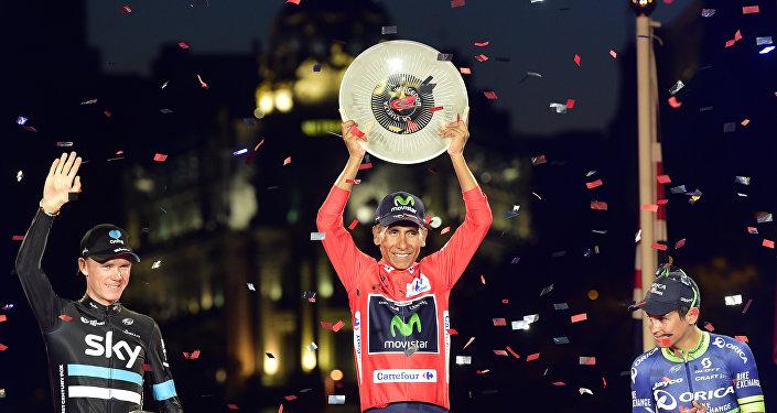 Nairo Quintana, el ciclista colombiano