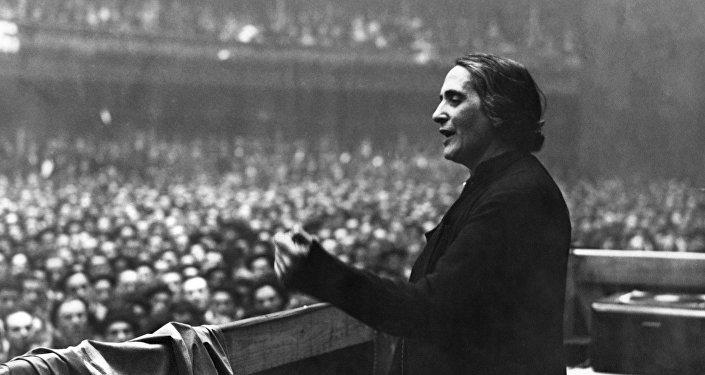Dolores Ibárruri, una política española