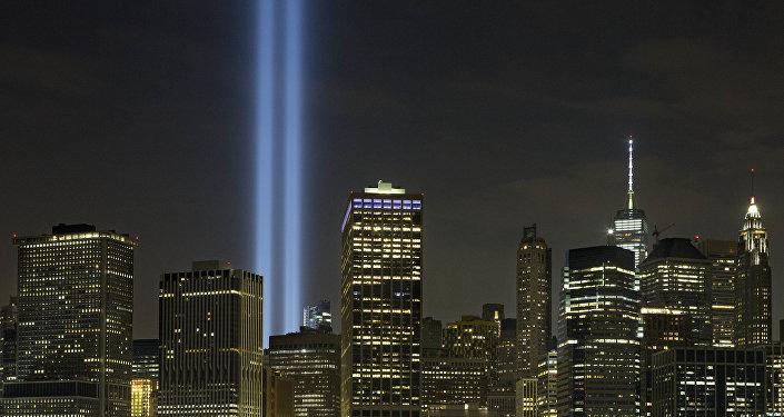 La conmemoración de la tragedia del 11 de septiembre en Nueva York, <strong><a href=