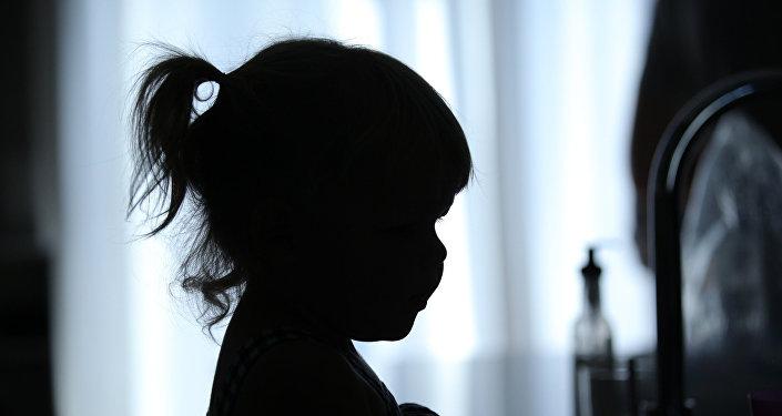 Una niña