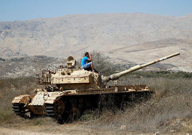 La situación en los Altos de Golán