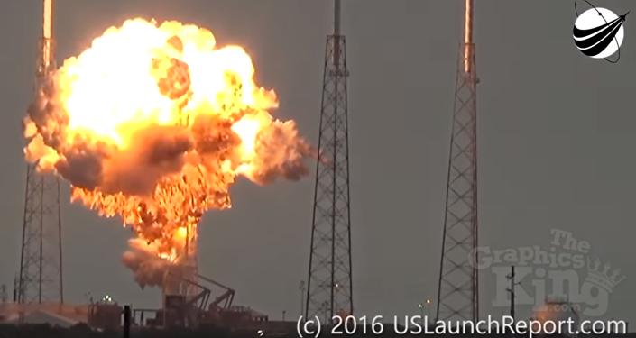 Explosión del SpaceX Falcon 9