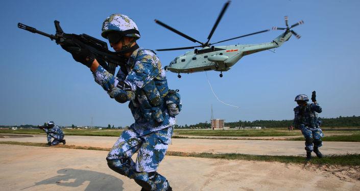 Maniobras conjuntas ruso-chinas (archivo)