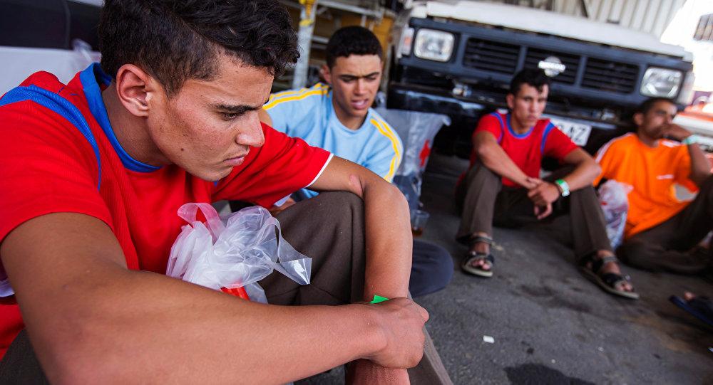 Migrantes en España